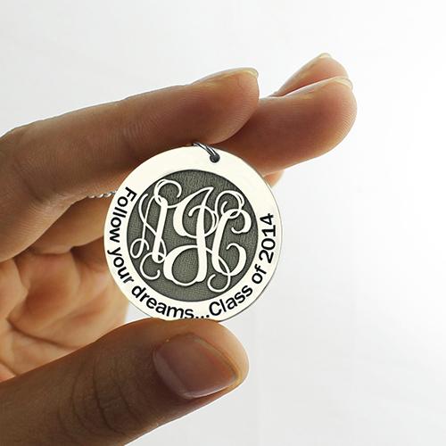 Follow Your Dreams Monogram Necklace
