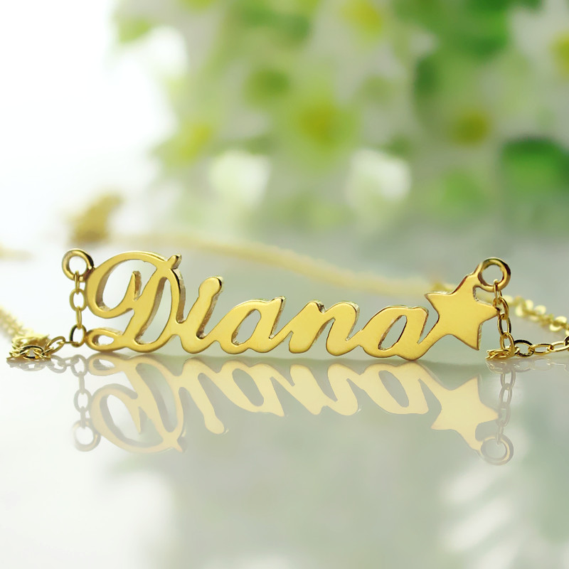 "Your Own Name Necklace ""Carrie"""