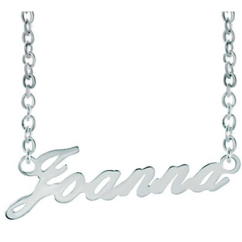 Name Necklace 925 Sterling Silver