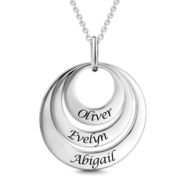 engravable-three-disc-necklace-silver