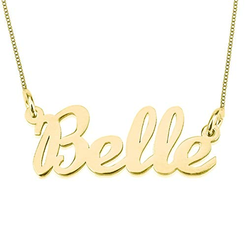 Classic Gold 18k Name Necklace
