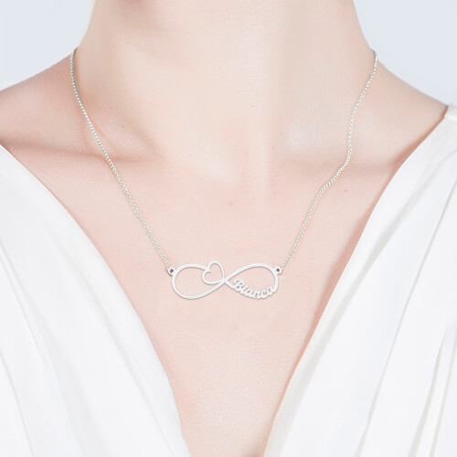 Infinity Arrow Sterling Silver