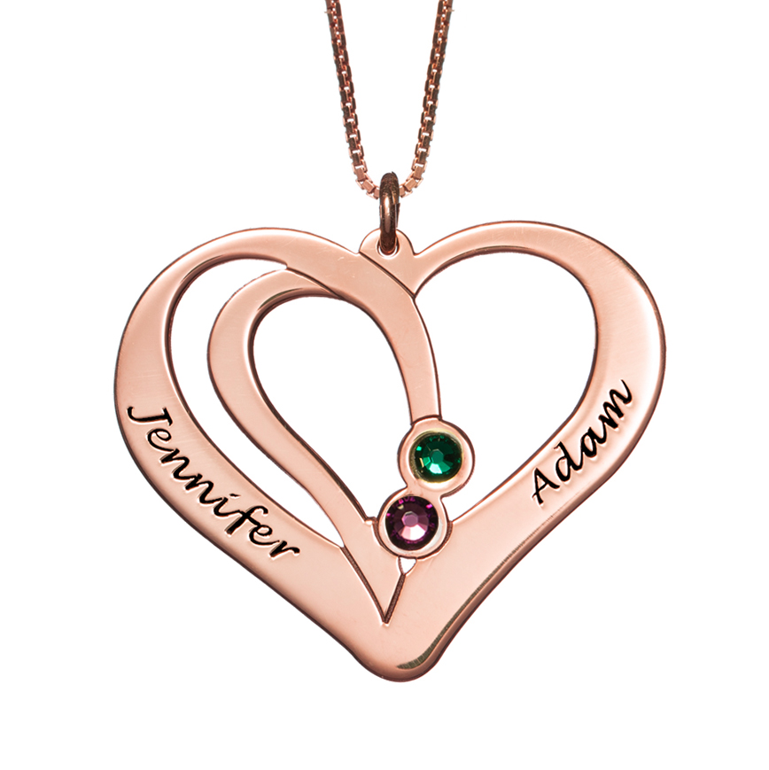 valentine heart rosegoldversion22